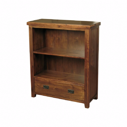 Roscrea Acacia Low Bookcase